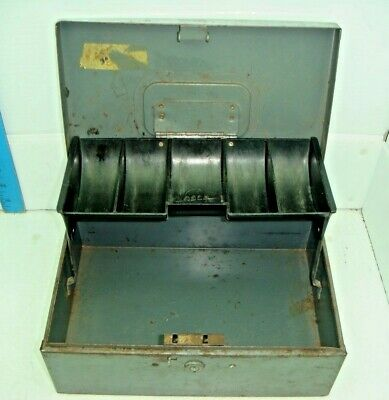 Vintage Steelmaster Cash Box With No Key