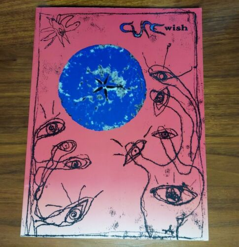 THE CURE WISH MUSIC BOOK SHEET MUSIC WITH FRIDAY I