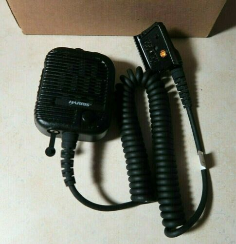 Harris KRY 101 1617/185 Speaker Microphone Jaguar 700P LPE-200 M/A-Com Ericsson