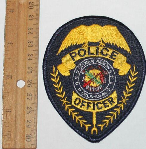 BROKEN ARROW POLICE OFFICER Oklahoma OK PD patch