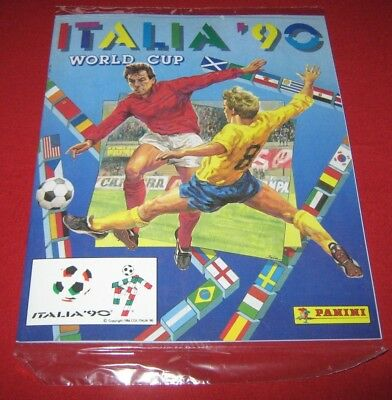 OFFICIAL LICENSED PANINI Album Reprint World Cup Italy 90 Complete No Stickers