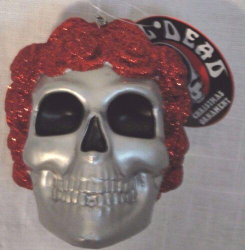 "Grateful Dead "" BERTHA"" Skull with Roses  Ornament"