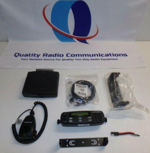 Motorola CDM1250 136-174 MHz VHF 45w Remote Head Two Way Radio AAM25KKD9AA2AN