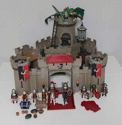 PLAYMOBIL Knights 6001 Falkenritterburg grosse Ritterburg Ritter DRACHE*YDX*