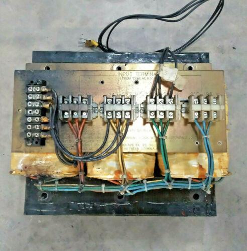 Haas MAIN TRANSFORMER ASSEMBLY 230V 3 Phase 64-1430A VF 0 1 2 3 4 5 6