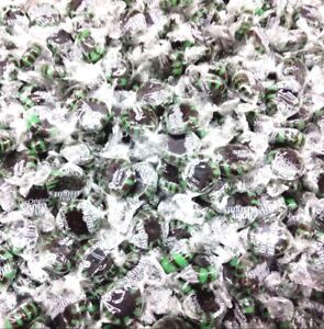 Chocolate Starlight Mints Hard candy bulk wrapped candy 2 Lbs.