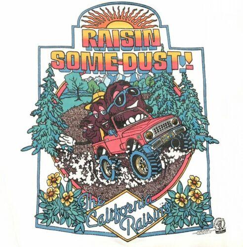 "Vtg California Raisins Sweater ""Raisin Some Dust"" 1988 Sun Sportswear Size Large"