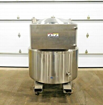 Mo-3253 Ab Process Systems 150 Gallon Jacketed Tank W Racking. 150mt-rd.