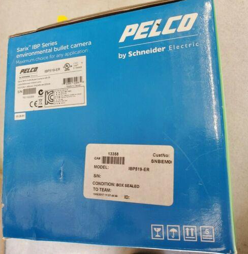 Pelco IBP519-ER Sarix Outdoor IR Network Bullet Camera, 2.8-10 New In Box