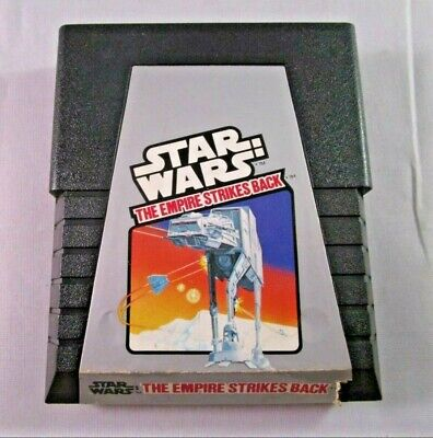 STAR WARS EMPIRE STRIKES BACK Clean Tested Working Atari 2600 Game