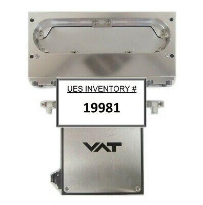 Vat 02110-ba24-anc1 Pneumatic Slit Valve Ulvac 200mm Enviro Ii Working Surplus