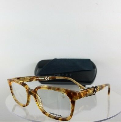 100% Authentic Brand New Diesel Eyeglasses DL 5111 Light Tortoise 053 Frame