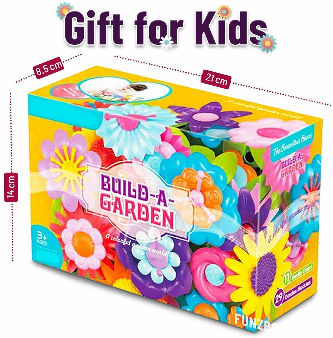 99 ps flower garden building toys