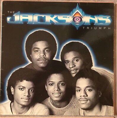 """TRIUMPH"" - THE JACKSONS  - VINYL12"" LP  - VG. COND. 1980 comprar usado  Enviando para Brazil"
