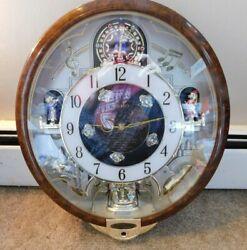 Seiko Melodies in Motion 2007 Collectors Edition Swarovski Crystal Clock - Parts
