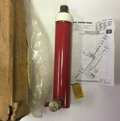 Spx Power Team Hydraulic Cylinder C154c-ptp 15 Ton 10-18 Stroke 10000psi