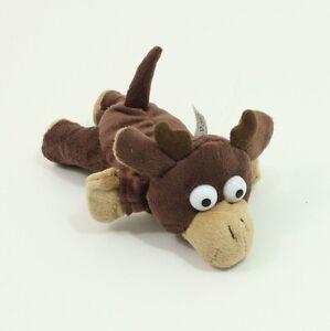 Flingshot Dog Toy Slingshot Flying Stuffed Screaming Reindeer