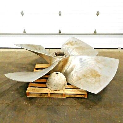 "MO-2905, BIRD JOHNSON 60241 PROPELLER. 8' DIA. 40"" x 36"" x 8.75"" BORE. MAT.CF3."