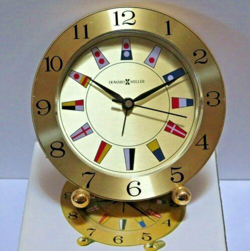 Howard Miller Shipmate Table Quartz Clock 645-281