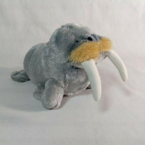 "Ganz Webkinz 9"" WALRUS wi Tusks Beanie Plush Super Soft Stuffed Marine Animal"