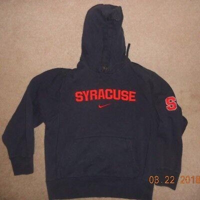 Syracuse Orange Nike Hoodie Cool Sweatback 1870 Train Theme GO 'Cuse Sweet Large