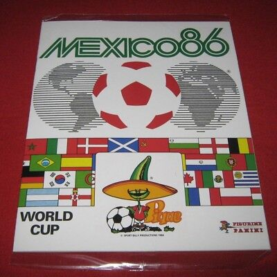 OFFICIAL LICENSED PANINI Album Reprint World Cup Mexico 86 Complete No Stickers