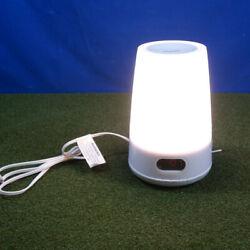 Philips HF3470 Wake-Up Light Therapy Natural Sunrise Lamp Alarm Clock FM Radio