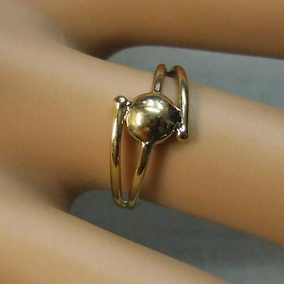 9 ct gold second hand fancy gold ring