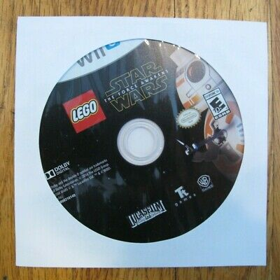LEGO Star Wars: The Force Awakens (Nintendo Wii U, 2016) Disc Only Free Shipping
