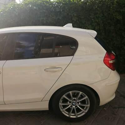 BMW 116d Aleta de Tiburón Funcional Blanco Antena (Compatible para Am/Fm Radio)