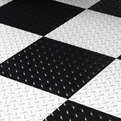 Garage Flooring Peel And Push Tiles Best Black Basement Vinyl Floor Mats 12x12