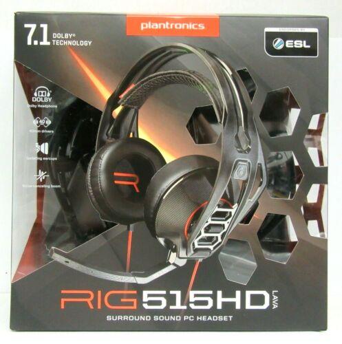 Plantronics RIG 515HD LAVA Over-the-Ear Headphones Black 206075-01