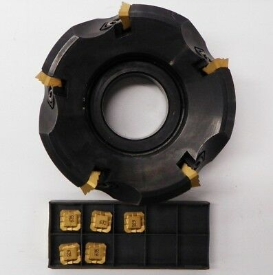 Sandvik Ra260.22-100r38-12l 4 Face Mill Sekr 43aftr-hs Carbide Inserts D226
