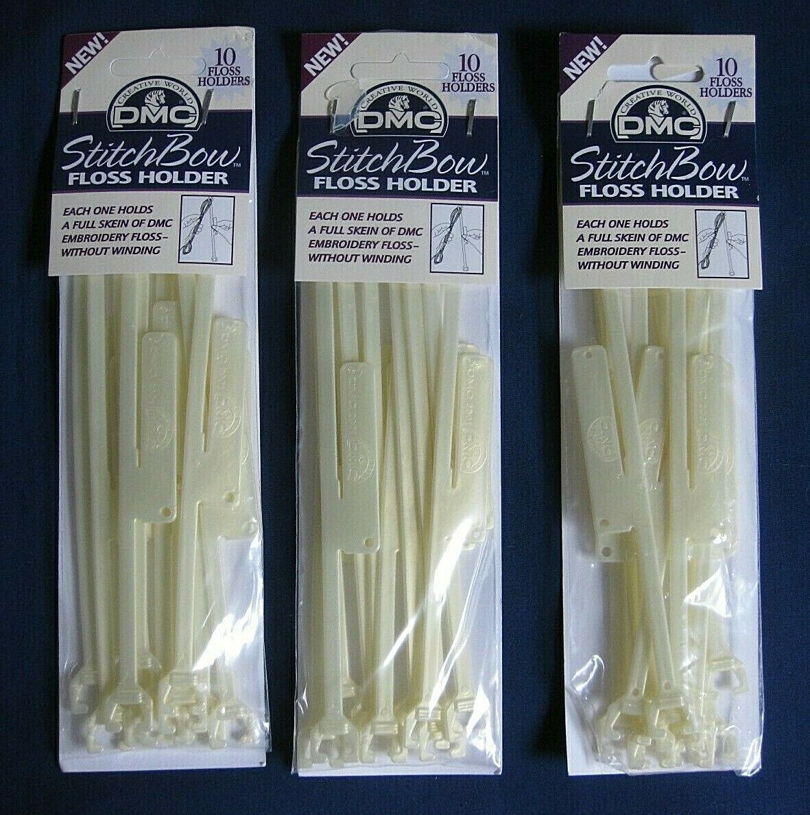 DMC StitchBow Floss Holder-10//Pack-NEW