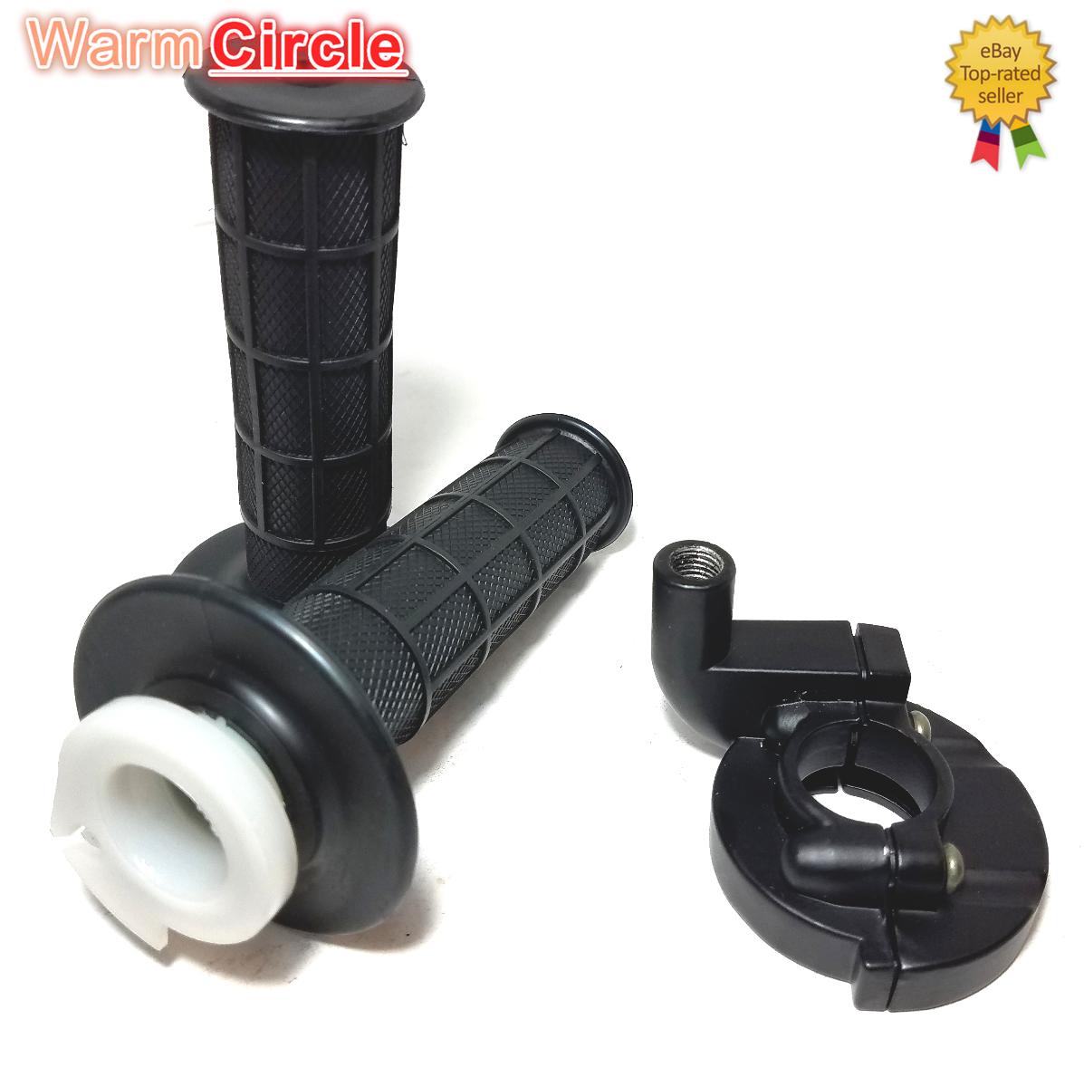 2x Throttle Grip HandleBar Handle Tube Assy for YAMAHA 22mm 7//8/'/' Bar