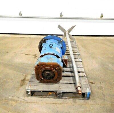 Mo-2793 Contraves 10 Hp Mixer. 304 Ss. 3500 Rpm. 240 Arm V. 74 Shaft.