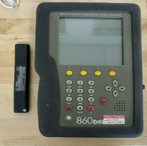 Trilithic 860DSP Multi-Function Interactive Cable Analyzer 1GHZ DOCSIS 3.0 8x4