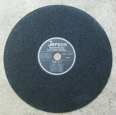 Jepson Reinforced Cutting Wheel For Metal Use 14x18x1 Chop Saw Wheel Blade New