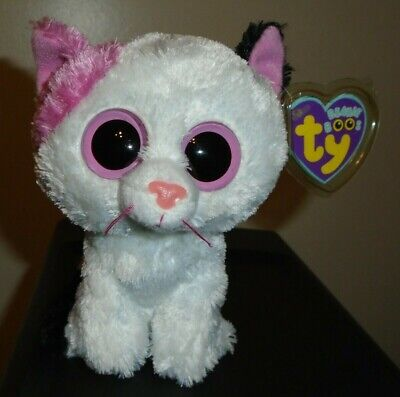 Ty Beanie Boos - MUFFIN the Cat (6 Inch)(Solid Eyes Version) MINT with MINT TAGS