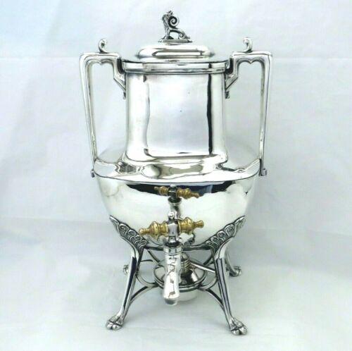 1869 REED & BARTON AESTHETIC CHIMERA ETRUSCAN MYTHOLOGY SAMOVAR COFFEE URN