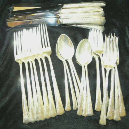 ONE - 4 PIECE PLACE SET Greenbrier by Gorham Sterling Silver NO MONOGRAM HAVE 8