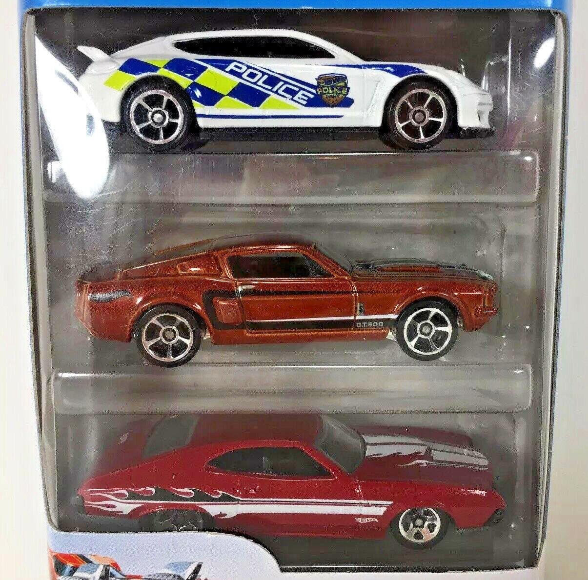 New Hot Wheels 3 Assorted Car Pack Die Cast Metal Cars Porsc