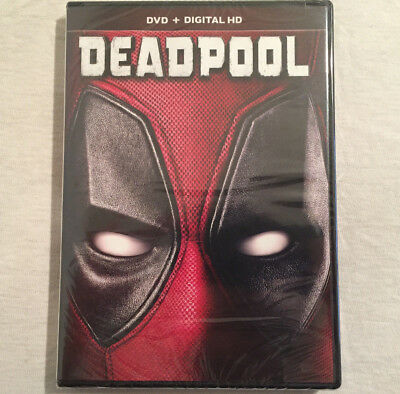 Deadpool (DVD, 2016) BRAND NEW - FREE SHIPPING!!!