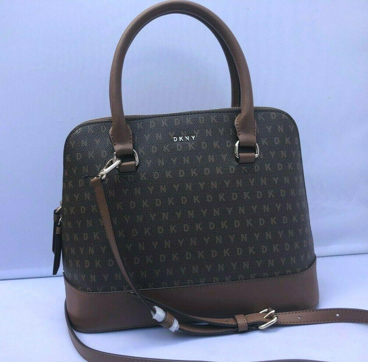 bryant dome logo md round satchel bag