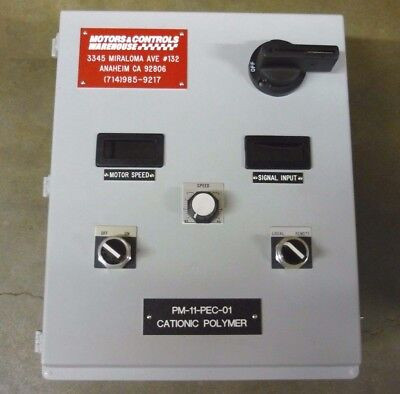 Serie Chem-feed (Motor Controller MM300 Series SCR Drives for DC Brush Motors Chem Feed 1/4HP)