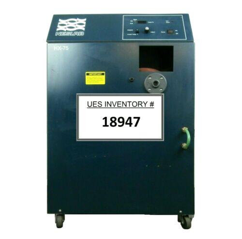 HX Series Neslab HX-75 Recirculating Chiller Tested Working Spare