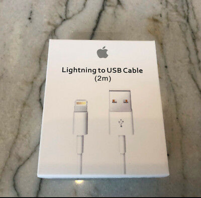Fake Original OEM Apple iPhone 5 X 8 7 6S plus Lightning USB Cable Charger 2M