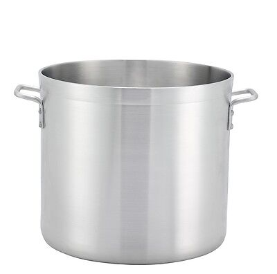 160 Quart Stock Pot (Winco ALHP-160, 160-Quart Precision Extra Heavy Aluminum Stock Pot, NSF)