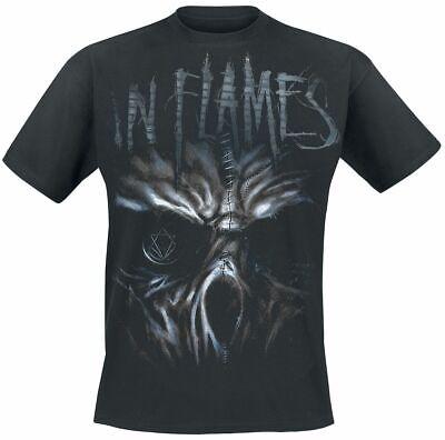 In Flames Ghost T-Shirt schwarz