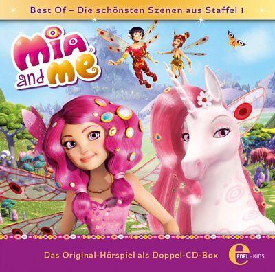 MIA AND ME - BEST OF STAFFEL 1-DOPPEL-BOX-HÖRSPIEL Z, TV SERIE  2 CD